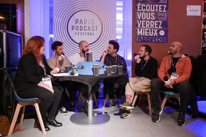 Enregistrement public : Parlons péloches Invités : Cyrus et Tom du Meilleur Podcast