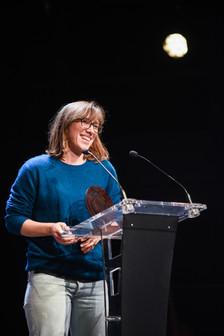 """Remise du Prix SACD du Podcast de Fiction : Claire Richard  """"Les chemins de désir"""" (dans la collection A suivre) pour l'épisode """"Le Big Bang"""" (Arte Radio)"""