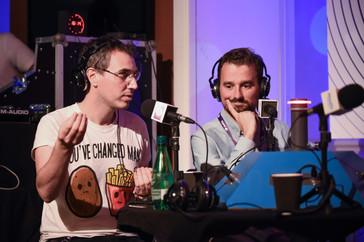 Cédric Bégoc (Acast), Julien Loisy (Podcastéo)