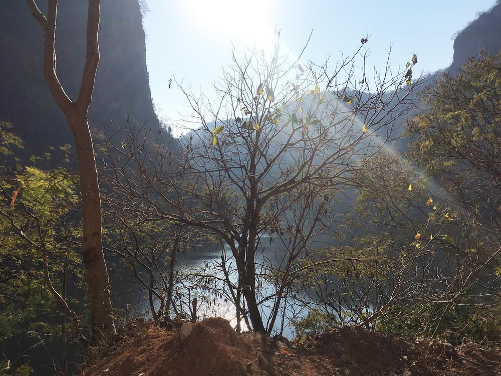 Vista del Río Santiago