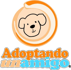 Logo de asociacion de rescate Adoptando un amigo