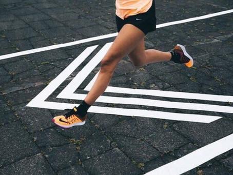 Uma nutricionista no POA Night Run