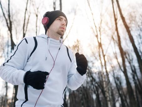 Por que não parar de treinar no inverno?