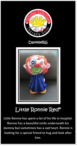 Little Ronnie Red Story Card