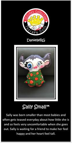 Sally Small Story Card