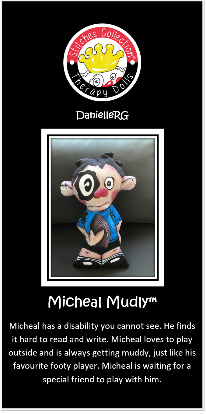 Micheal Mudly Story Card