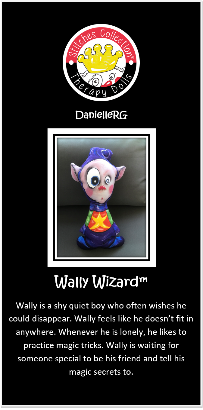 Wally Wizard Story Card