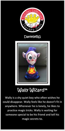 Wally Wizard Story Card