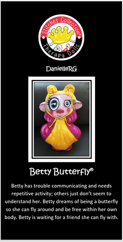 Betty Butterfly Story Card