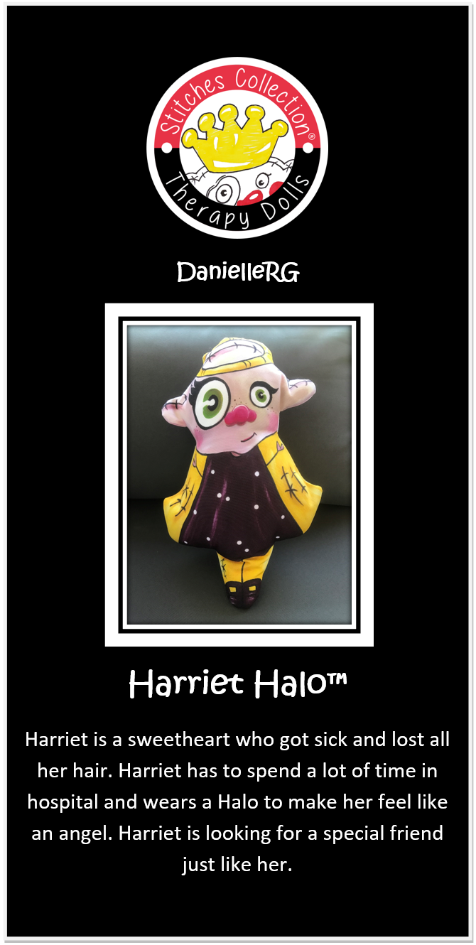 Harriet Halo Story Card