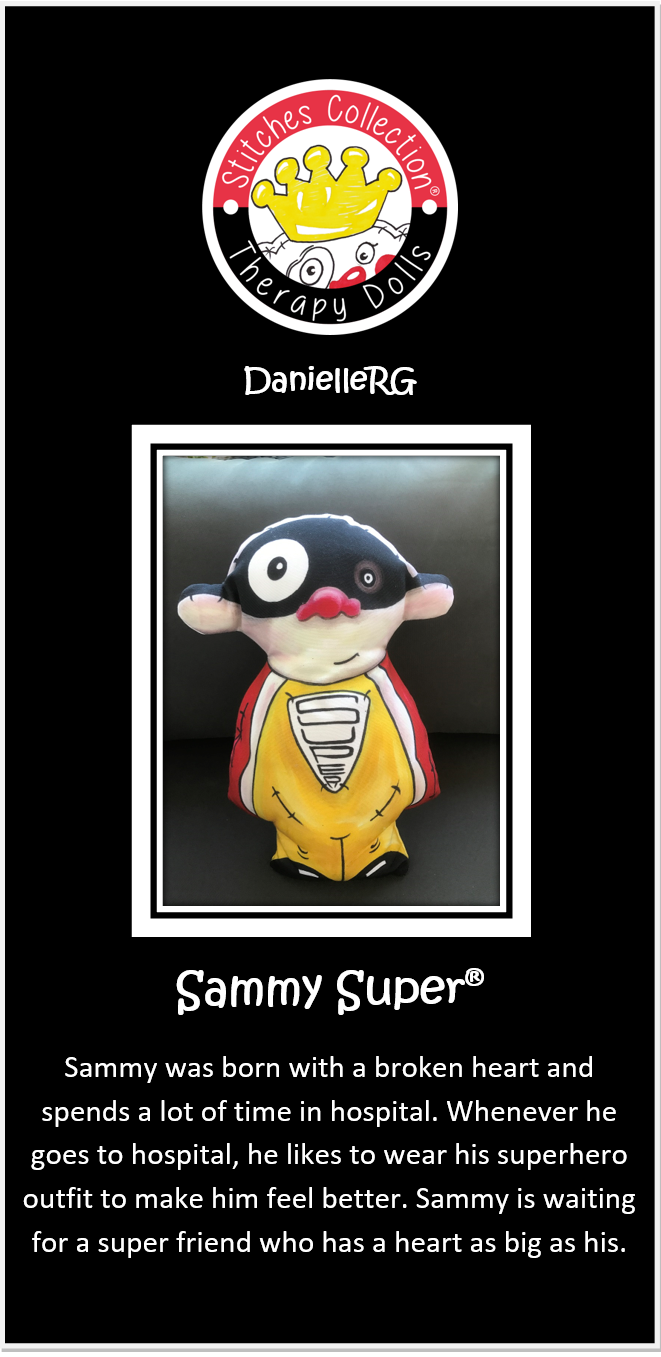 Sammy Super Story Card