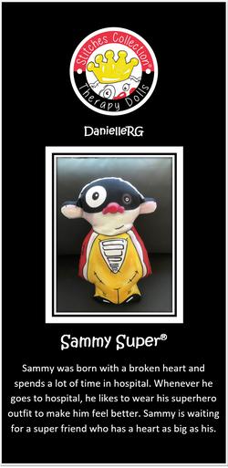 Sammy Super Story Card