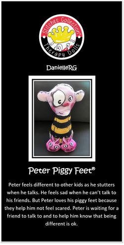 Peter Piggy Feet Story Card