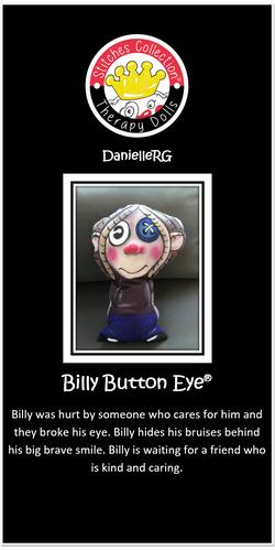 Billy Button Eye Story Card