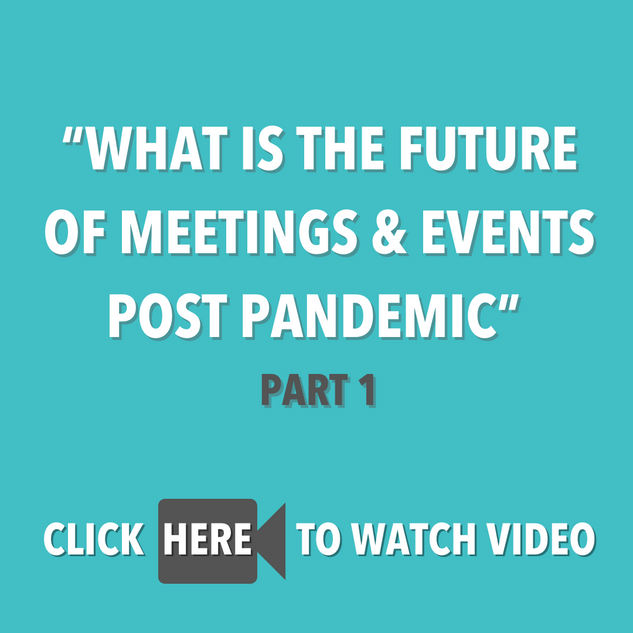 """What is the future of Meetings & Events"