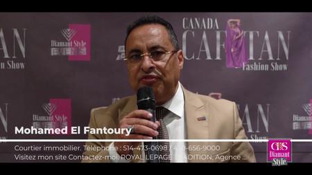 Caftan Fashion Show 2019  T.HADRI Production fière partenaire de Canada Caftan Fashion Show 2019