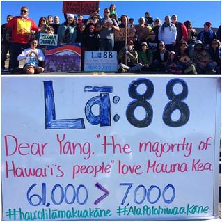 Mauna Kea showdown looms