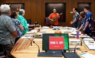 Protesters Ask 'Voice of the Hawaiian People' to Stop Mauna Kea Telescope