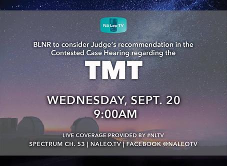 BLNR Hearing Sept 20!