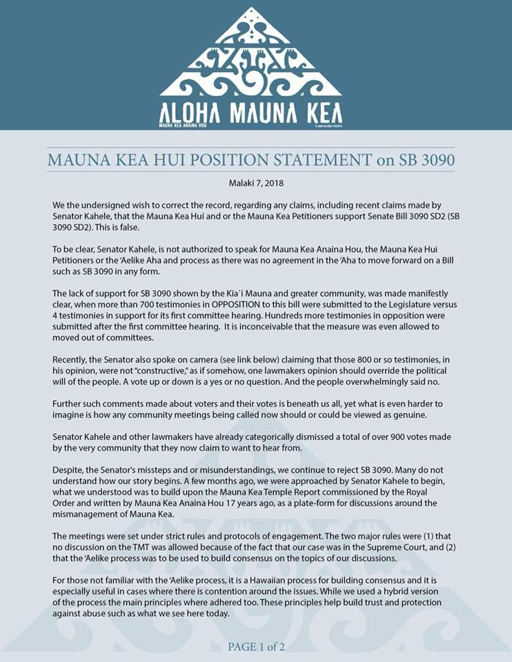 Oppose SB3090