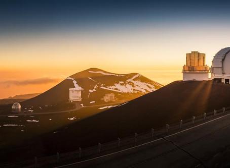 Telescope Equipment Coming Down from Hawaiian Mountain