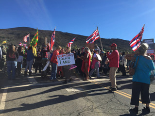 Protectors Slow TMT: More arrests as protectors block Thirty Meter Telescope construction on Mauna K