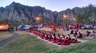 Hula halau hold summer solstice ceremonies, offer support to Mauna Kea