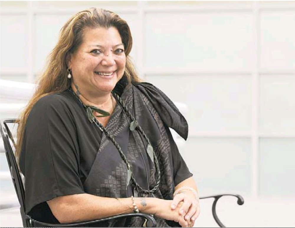 Kealoha Pisciotta, leader of the Maunakea Hui petitioners against the Thirty Meter Telescope.