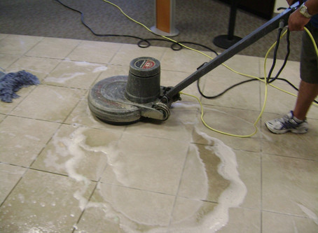 Cleaning Tile, Stone and Grout with Split! Non-Detergent Cleaner