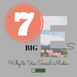 "7 ""Big E's"" of Why YOU Should Use Social Media"