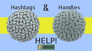 Hashtag & Handle Help