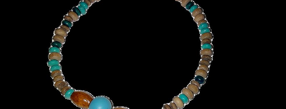 Tembo Wooden Beaded Bracelet