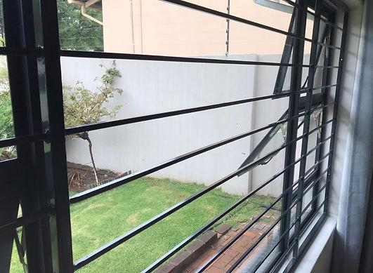 Full Window Security preventing intrusio