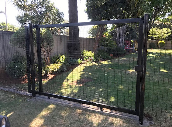 Clear View Gate and Fence