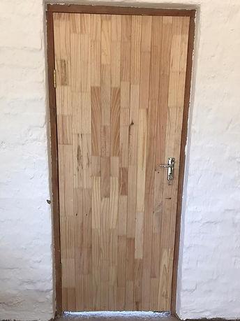 New door fitted
