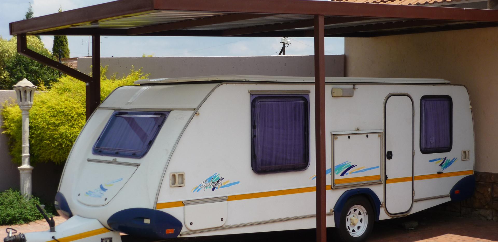 Caravan protected - job complete