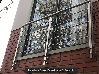 Stainless Steel Balustrade & Security.jp