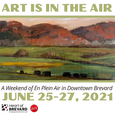 Art is in the Air Logo Square - Mountain