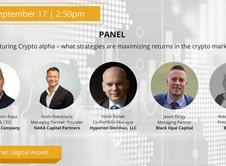 Great Crypto Panel at The Trading Show 2020!