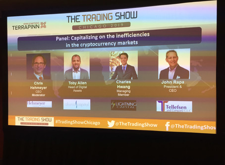 Great Crypto Trading Panel at The Trading Show Chicago!