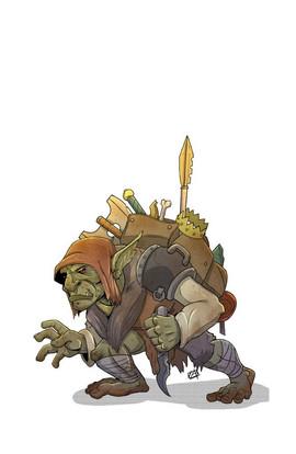 Goblin Hoarder