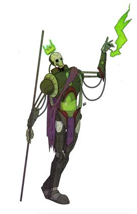 Warforged Necromancer