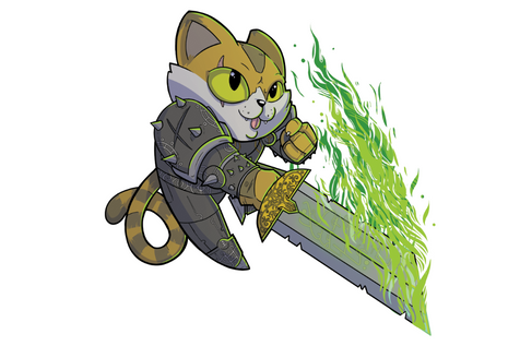 Death Knight Kitty