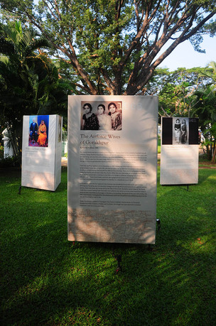 Installation view of 'A People's History – The Indian Memory Project' by Anusha Yadav