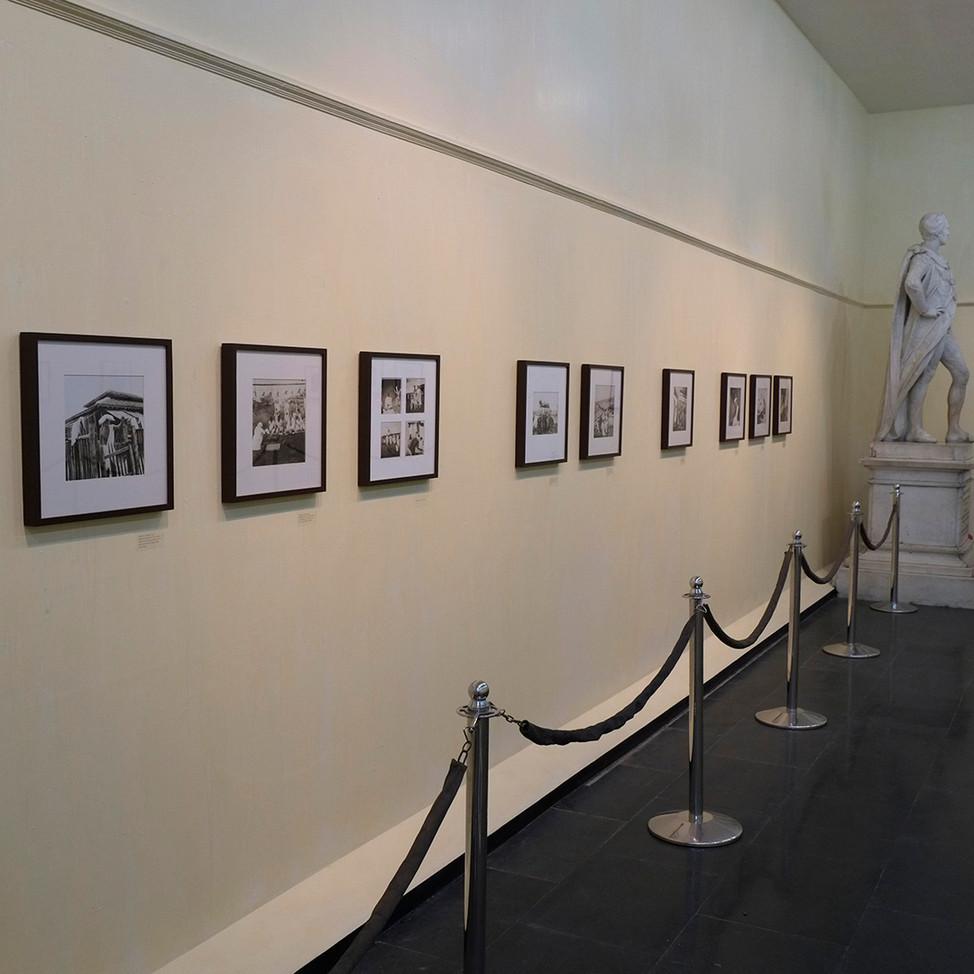 Installation view at Victoria Memorial Hall, Kolkata, India. 2016.