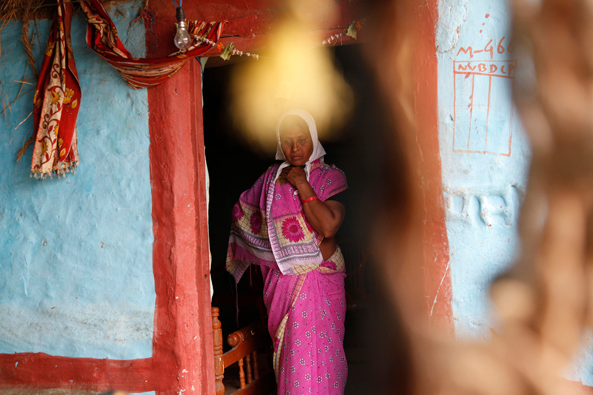 Antakala, wife of Puranlal Rahangdale of Makhetola village, who committed suicide.