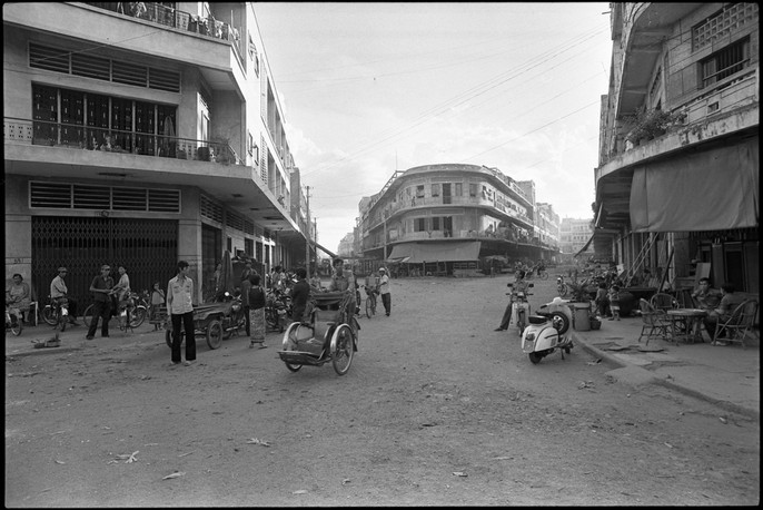 A street in Phnom Penh.