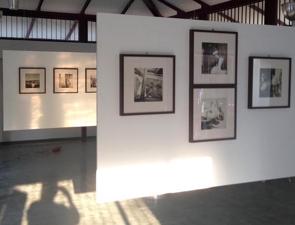 Installation view at Sabarmati Ashram, Ahmedabad, India. 2016.