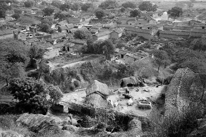 Malkhan Singh's village, Bilao, 1983.