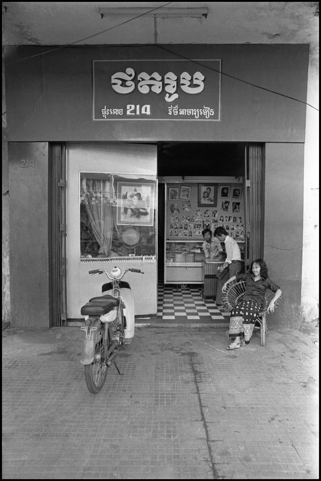 A photo studio in Phnom Penh.